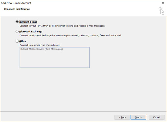 Setup email account on your Outlook 2010 Manual Step 4