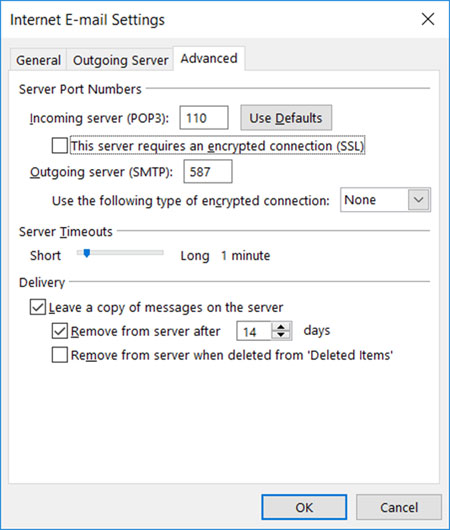 Setup email account on your Outlook 2010 Manual Step 7