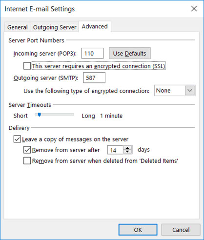 Setup email account on your Outlook 2013 Manual Step 6